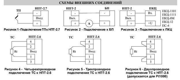 НПТ-2 подключение