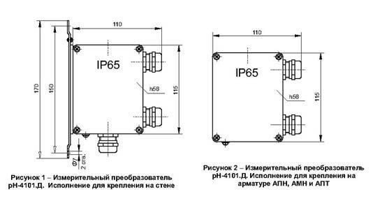 корпус рН-4101 изготовлен